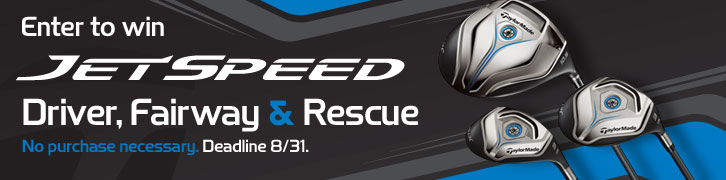 Enter to Win a Preowned TaylorMade SLDR Driver, Fairway & Rescue