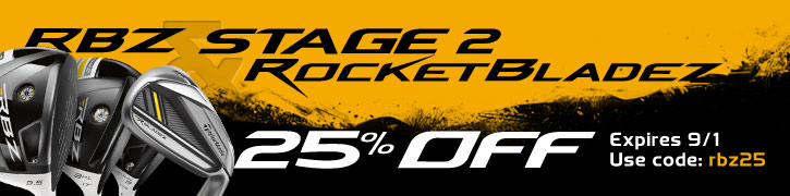 25% Off RBZ & RocketBladez Clubs