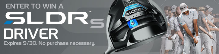Enter to Win a Preowned TaylorMade SLDR-S Driver