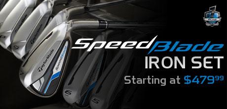 SpeedBlade Iron Set Starting at $479.99