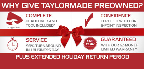 Why Give Taylor Made Preowned?