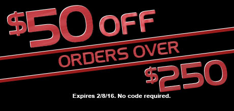 $50 Off Orders Over $250