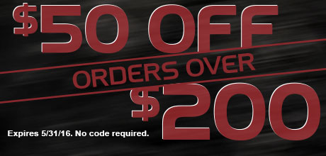 $50 Off Orders Over $200